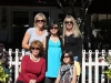 The Girls with Aunt Robin and Silly Grandma