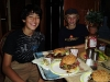 Austen and Andrew tackle 1 lb burgers