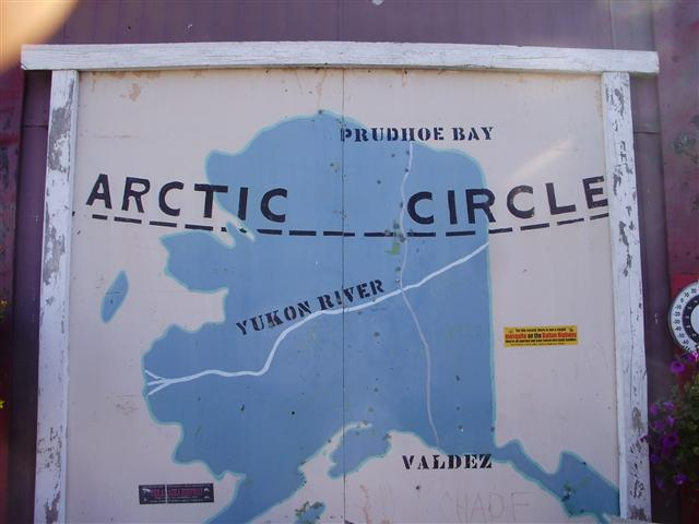 The only road to Prudhoe Bay