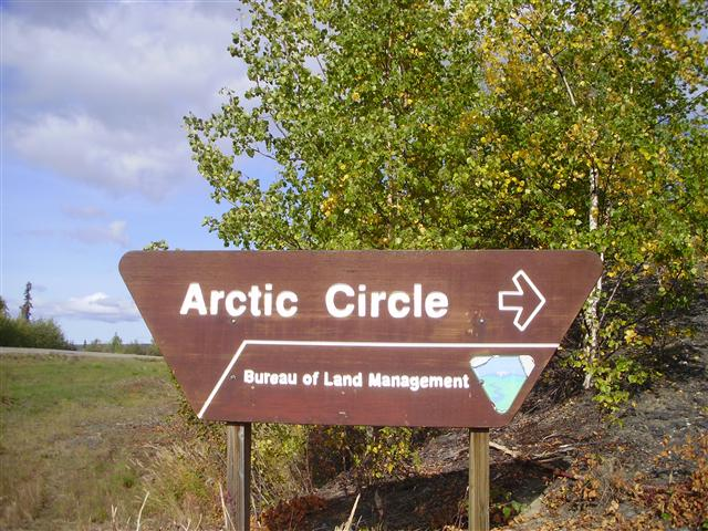 Arriving at the Arctic Circle