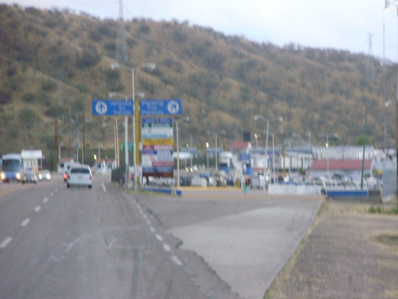Immigrations stop at Km 21