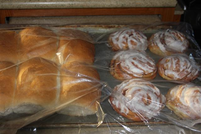 Bakery goodies from Kim and Larry