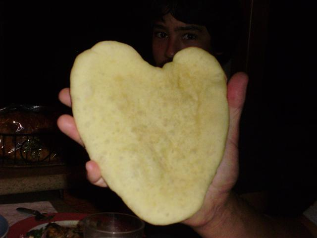Bread made with LOVE...