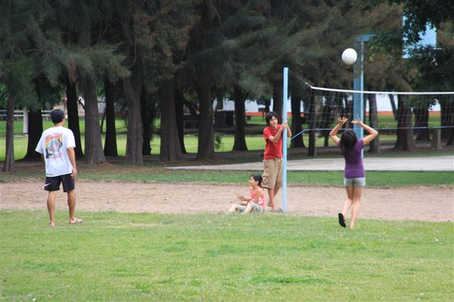 Miura family volleyball challenge