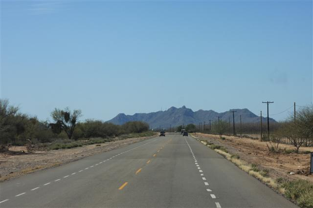 The long (66 mile) road to Kino