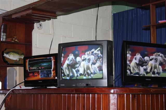 ... the Superbowl on small screen TV