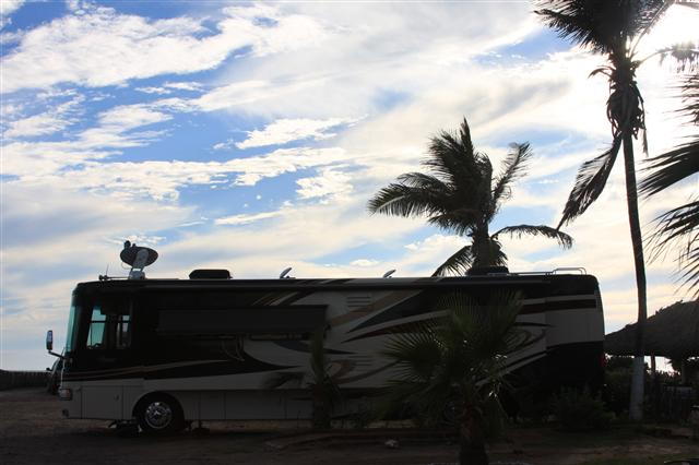 I don\'t think the RV looks too big most of the time, but sometimes...