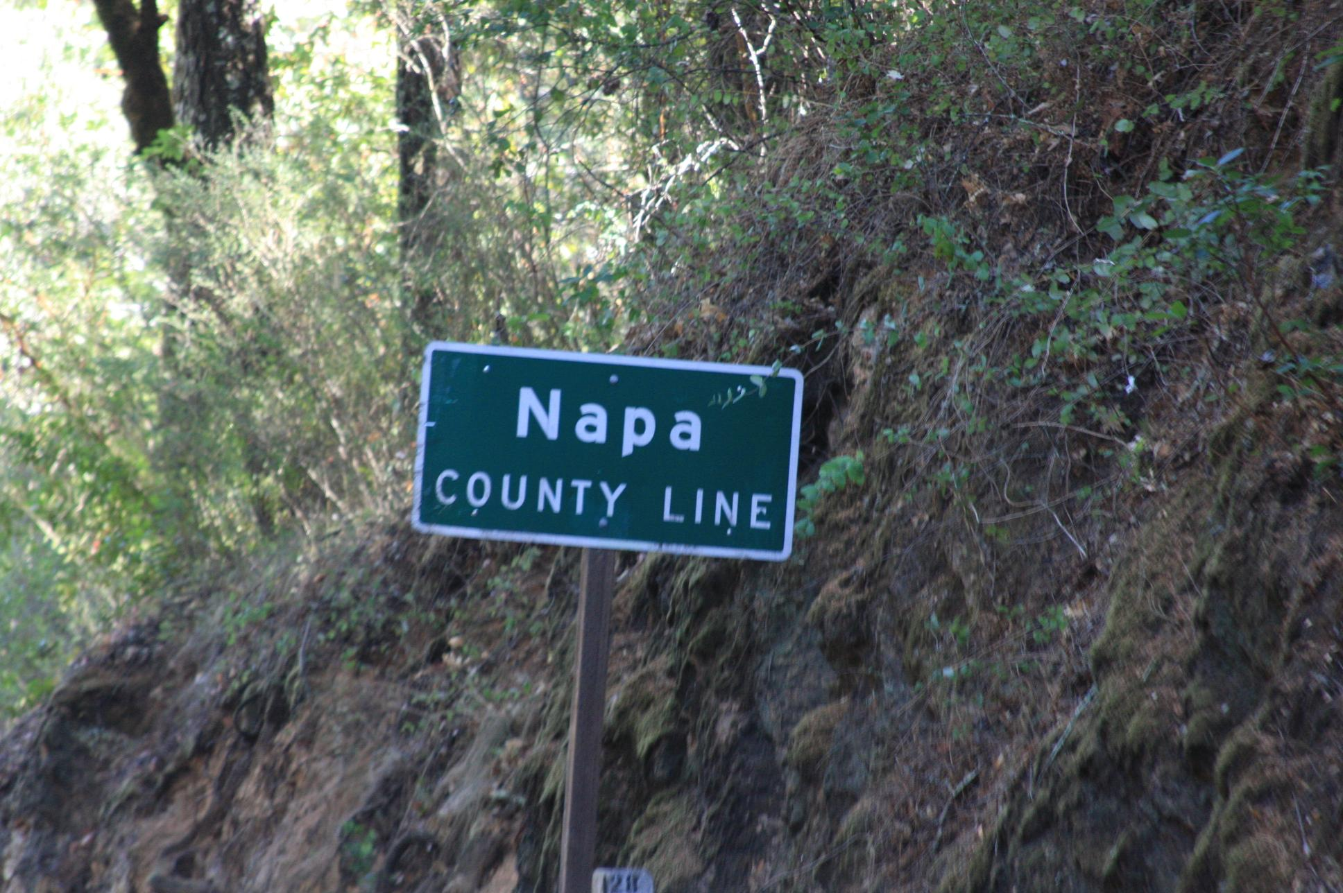 Napa - so this is where all our money goes...