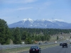 Snow up by Flagstaff