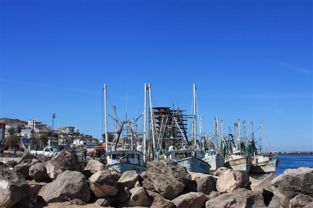 Penasco fishing harbor