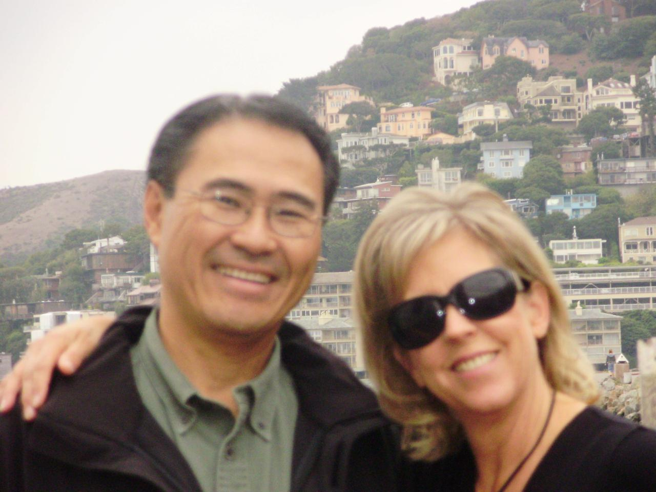 Remembering our first trip to Sausalito