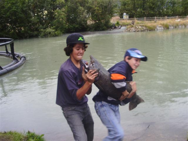 Andrew and Andre landing a big one