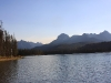 Red Fish Lake and Sawtooth Mountains