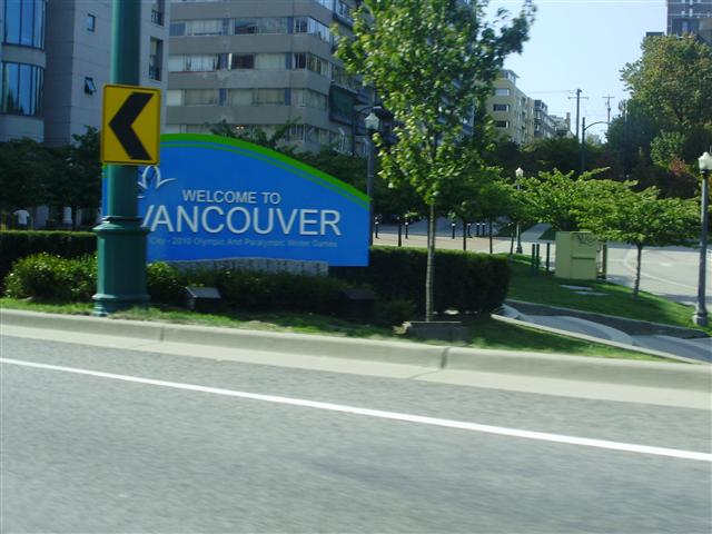 Entering Vancouver... Uh Oh