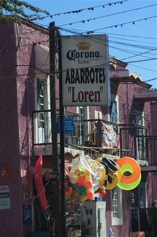 ...and shop at Abarrotes Loren