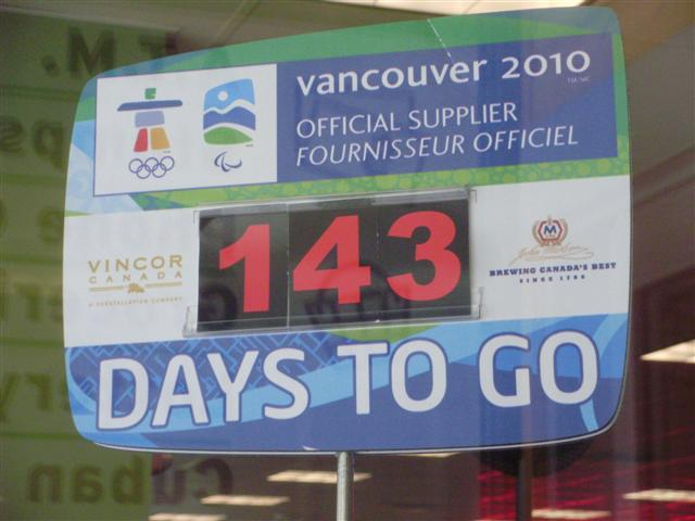 Olypic countdown