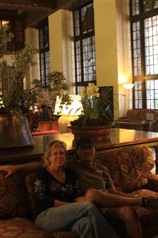 Relaxing in the Great Room