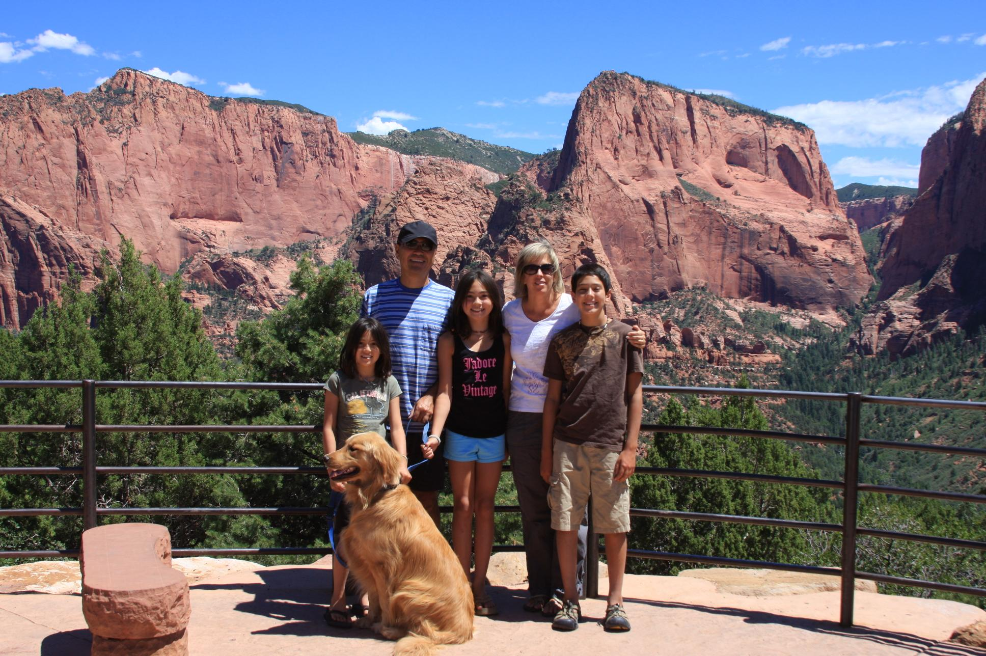 Goodbye Zion!  We will be back